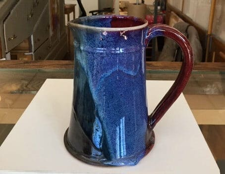 VAM-Stoneware Pitcher by Emily Crawford